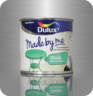 Dulux Made By Me Hobby Furniture Paint 250ml - Gloss Electric Green