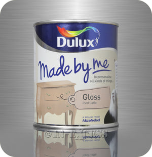Dulux Made By Me Hobby Furniture Paint 750ml - Gloss Iced Latte