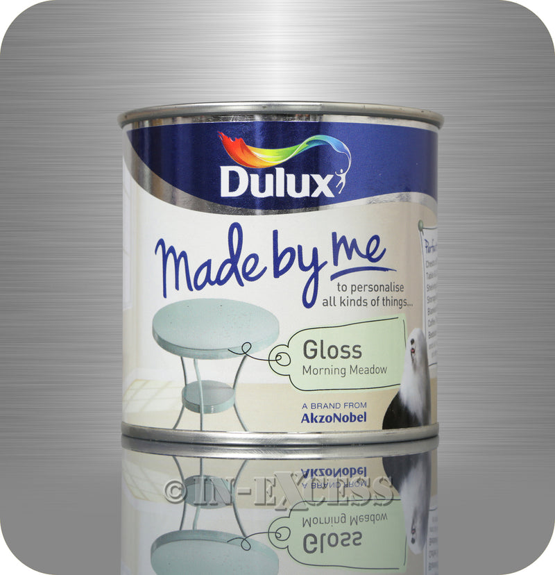 Dulux Made By Me Hobby Furniture Paint 250ml - Gloss Morning Meadow