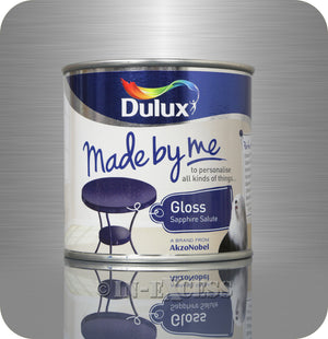Dulux Made By Me Hobby Furniture Paint 250ml - Gloss Sapphire Salute