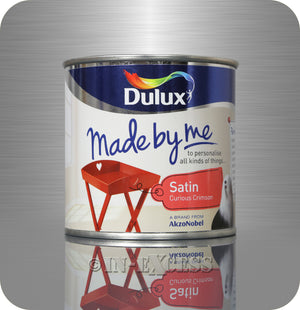 Dulux Made By Me Hobby Furniture Paint 250ml - Satin Curious Crimson