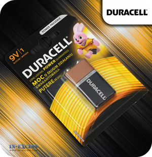 Duracell 9V Alkaline Battery
