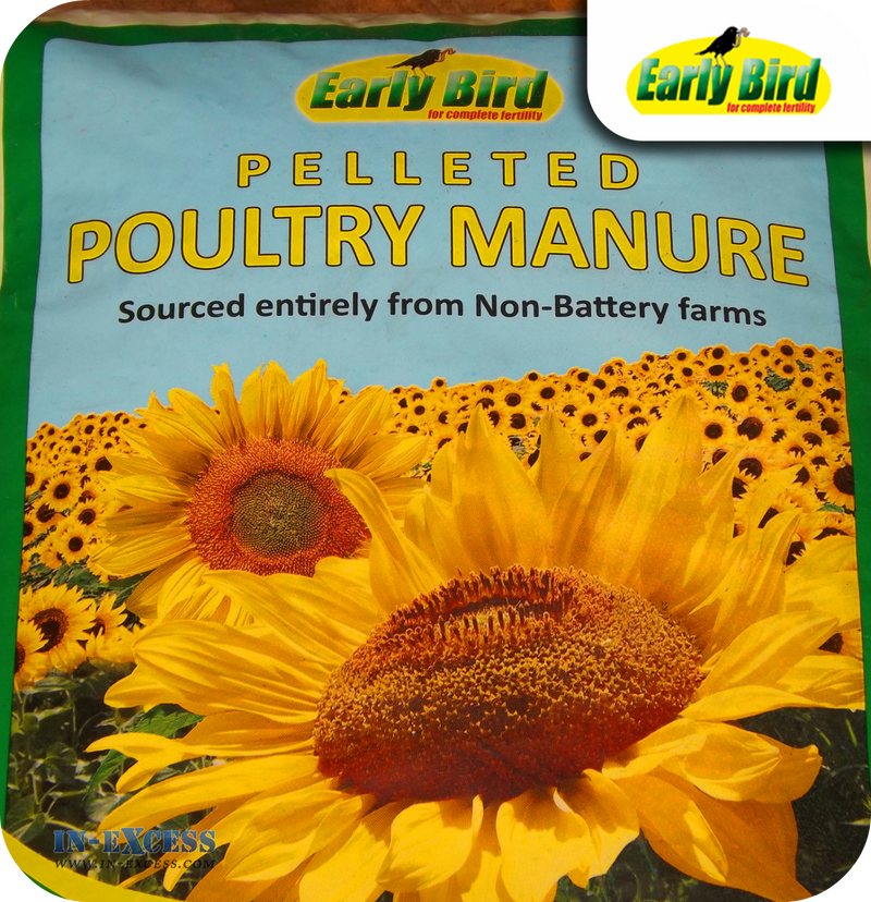 Early Bird Pelleted Poultry Manure - 15kg