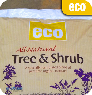 Eco All Natural Tree & Shrub Compost - 50 Litres