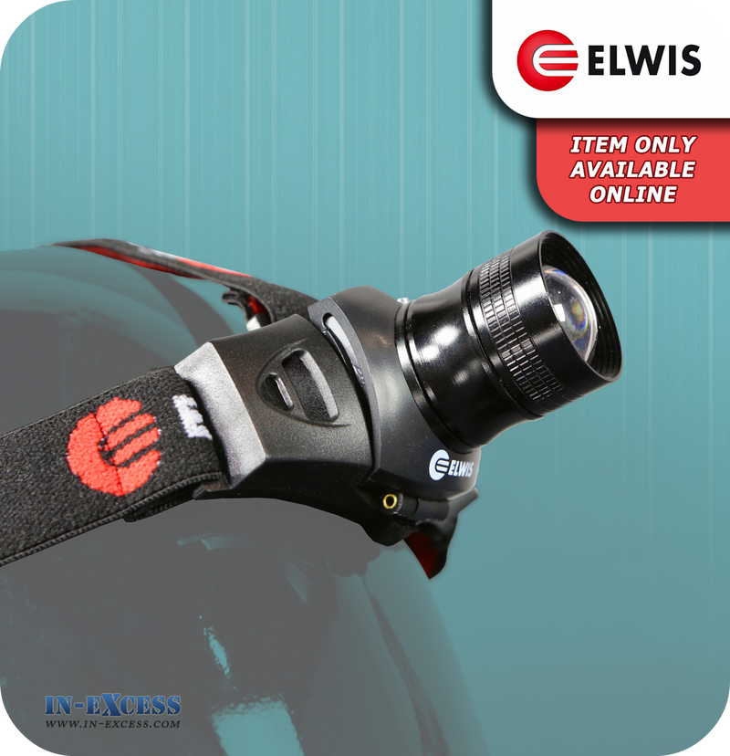 Elwis Battery Operated Headlamp - 120 Lumen