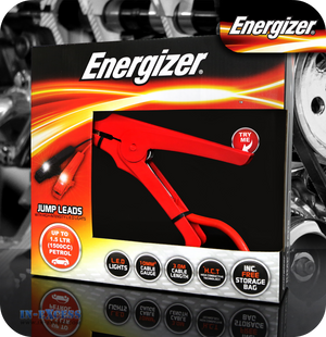Energizer LED Jump Leads up to 1500cc - 3 Metres