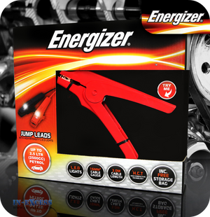 Energizer LED Jump Leads up to 2500cc - 3 Metres
