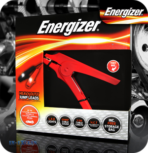 Energizer LED Jump Leads up to 5000cc - 3.5 Metres