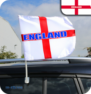 England St George Car Window Flag - World Cup 2018