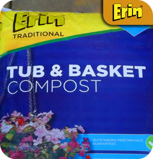 Erin Traditional Tub & Basket Compost - 70 Litres