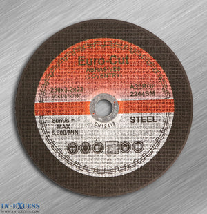 Euro-Cut Steel Cutting Disc 230mm