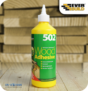 EverBuild 502 All Purpose Wood Adhesive - 500ml