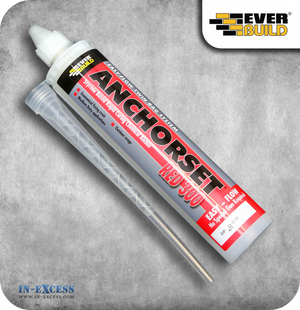 EverBuild Anchorset Red Chemical Anchor Adhesive - 300ml