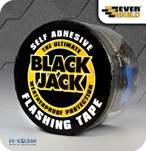 EverBuild Black Jack Self Adhesive Flashing Tape 100mm - 10 Metres