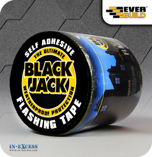 EverBuild Black Jack Self Adhesive Flashing Tape 150mm - 10 Metres