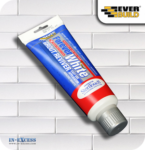EverBuild Forever White Grout Reviver - 200ml Arctic White