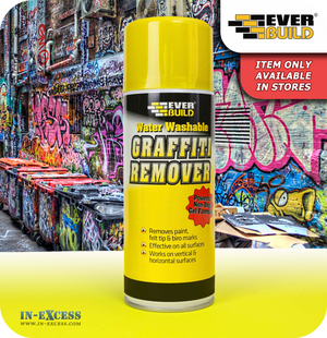 EverBuild Graffiti Remover Spray - 400ml
