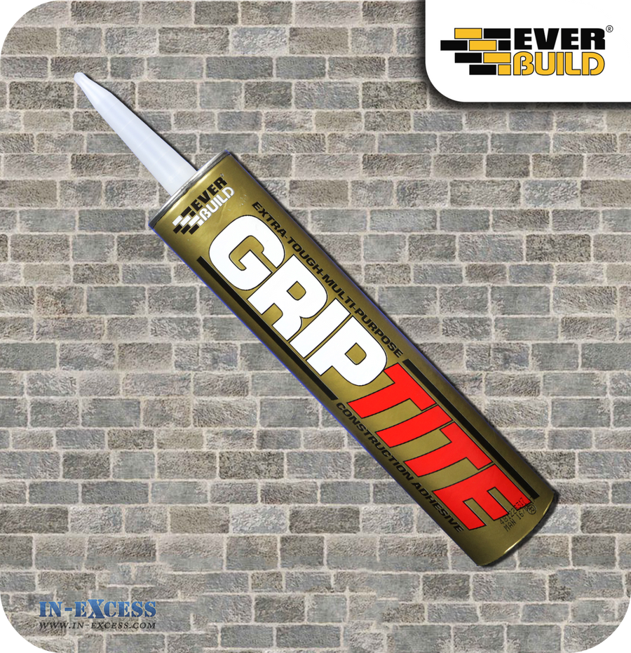 Everbuild Griptite Construction Adhesive Clear - 310ml