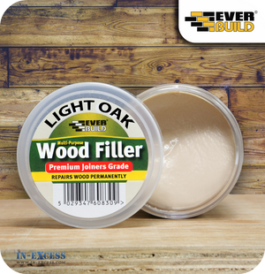 EverBuild Joiners Grade Wood Filler 250ml - Light Oak
