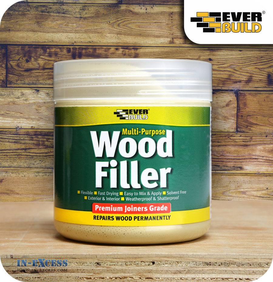 EverBuild Joiners Grade Wood Filler 250ml - Pine