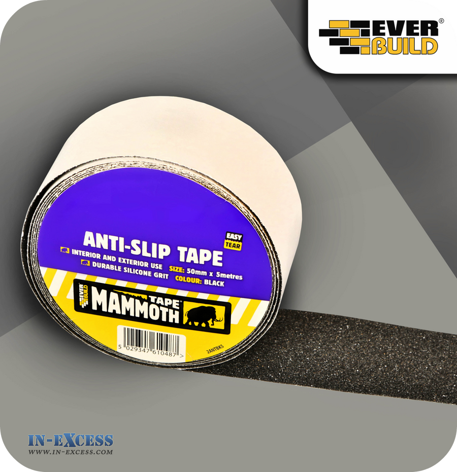 EverBuild Mammoth Anti-Slip Tape 50mm - 5 Metres
