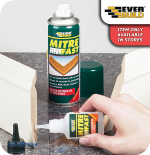 EverBuild Mitre Fast Instant Contact Adhesive Kit