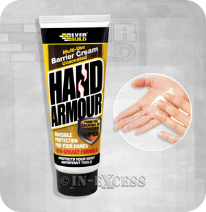 Everbuild Multi-Use Hand Armour Unscented Barrier Cream From Wonder Wipes - 100ml