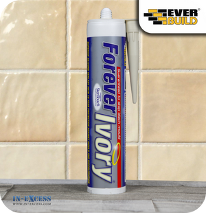 EverBuild Silicone Sealant Forever Ivory - 310ml