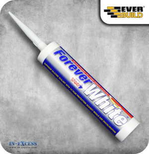 EverBuild Silicone Sealant Forever White - 310ml