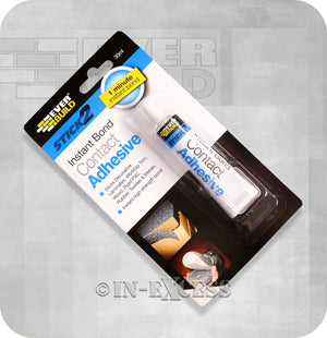 EverBuild Stick2 Instant Bond Contact Adhesive - 30ml