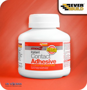 EverBuild Stick2 Instant Bond Contact Adhesive - 250ml