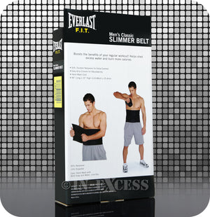Everlast FIT Classic Aerobic Men's Fitness Slimmer Belt