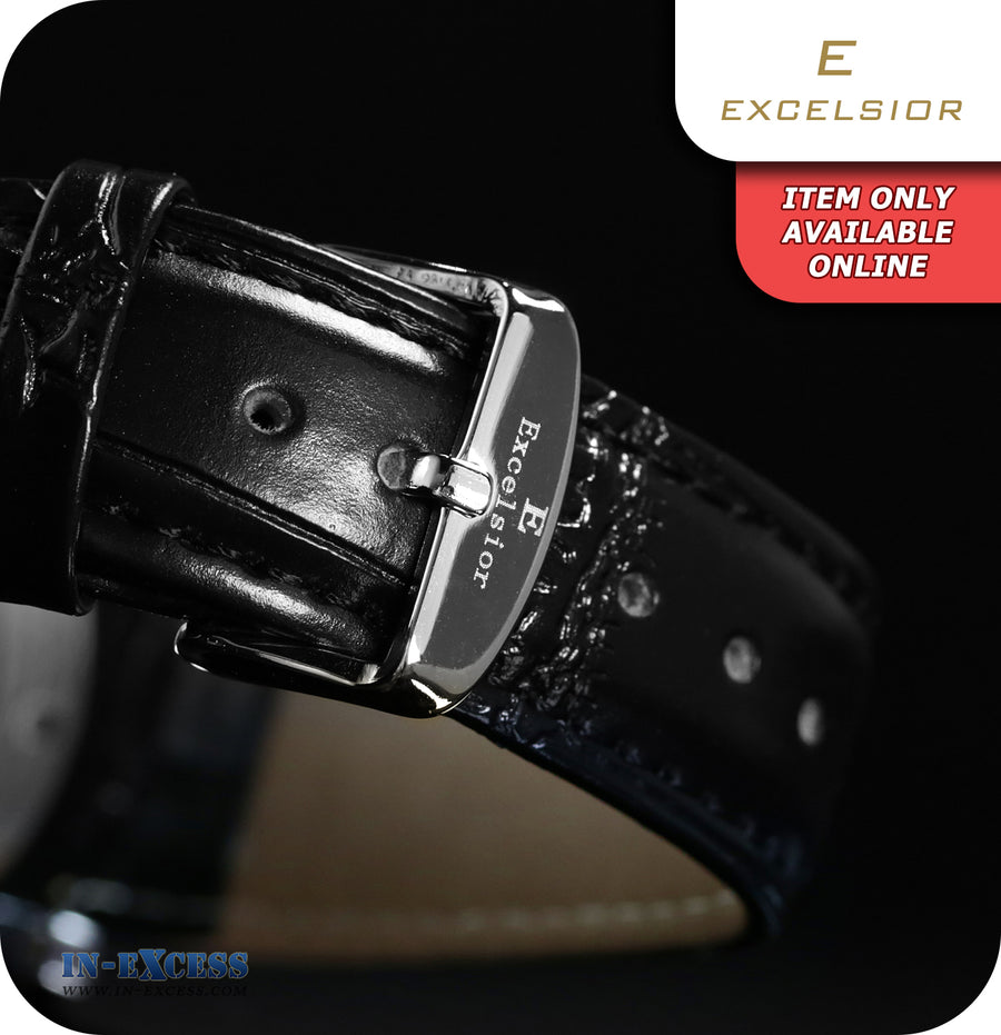 Excelsior Titanic Mechanical Wrist Watch With Synthetic Leather Strap  - Brushed Copper