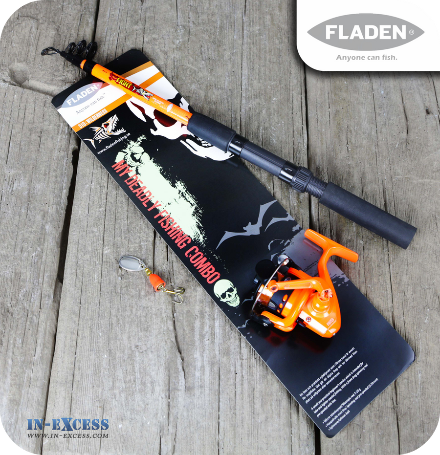 Fladen 510:Wilderness 'My Deadly Fishing Combo' Set