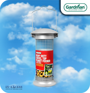 Gardman Heavy Duty Swivel Top Peanut Feeder