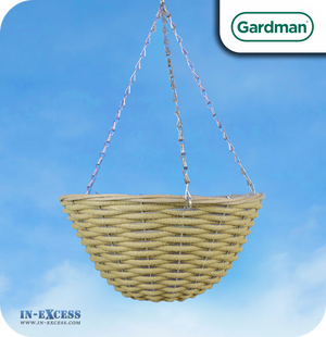 Gardman Natural Hanging Basket - 14""