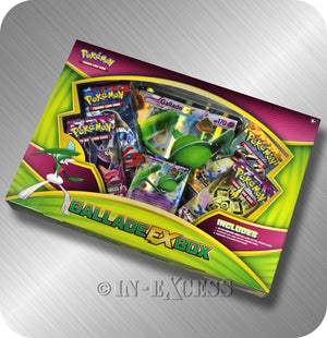 Pokemon Trading Card Game Gallade EX Box Set TCG Booster Pack Online Code