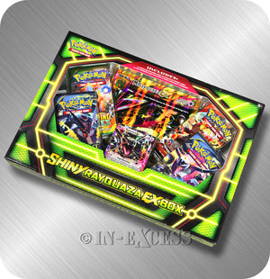 Pokemon Trading Card Game Shiny Rayquaza EX Box Set TCG Booster Pack Online Code