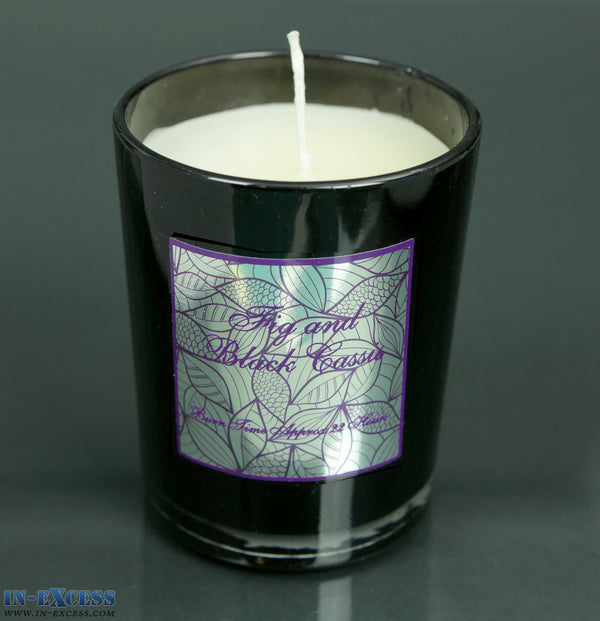 Fig Amp Black Cassis Glass Candle Jar In Excess Direct