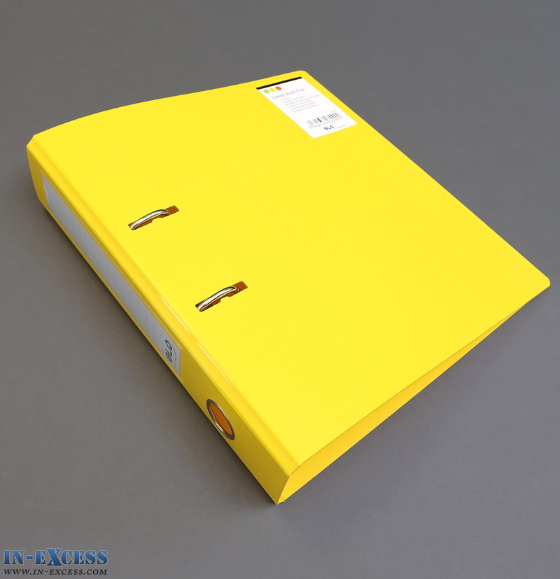GLO A4 Lever Arch File Folder A4 - 3 Colours