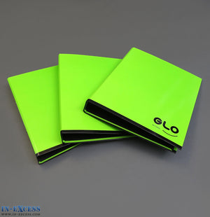 GLO A4 Ring Binder Folder A4 - Pack of 3 Green