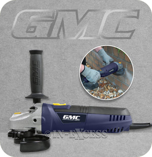 GMC Compact 115mm Metal & Stone Angle Grinder - 900W