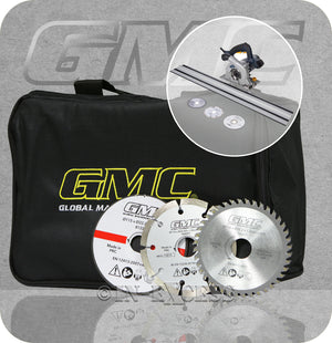 GMC Compact 110mm Plunge Saw With Track Kit - 1050W