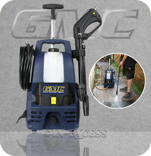 GMC Electric Outdoor Pressure Washer 135 Bar - 1400W