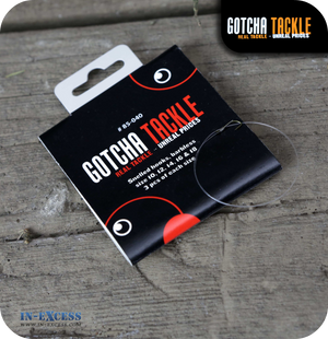 Gotcha Tackle Snelled hooks, barbless Size 10, 12, 14, 16 & 18