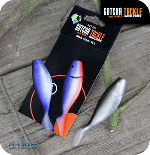 Gotcha Tackle Shads 100mm - Pack of 3
