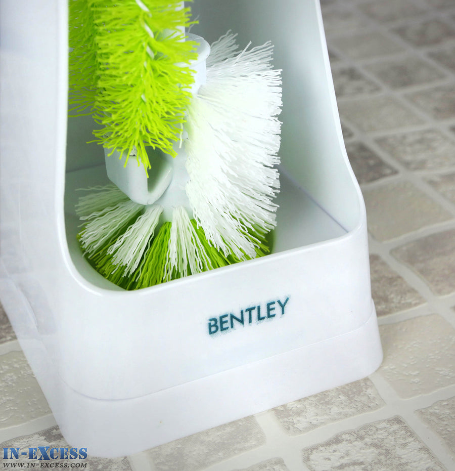 Green Clean 2 in 1 Toilet Brush Green/White