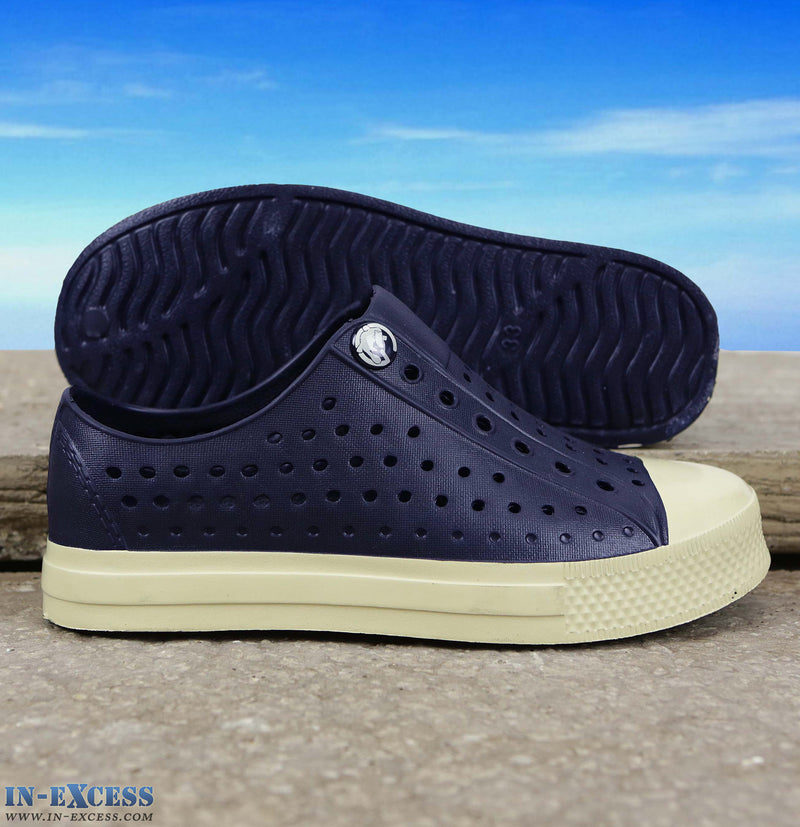 Gumbies Convert Deck Shoes - Junior 9-1 - Navy