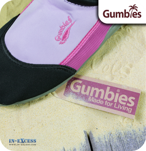 Gumbies Aqua Beach Shoes - Pink & Lilac -Sizes 3 (EU36) - 8 (EU42)