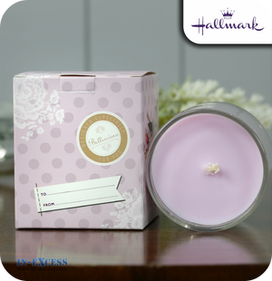 Hallmark Gifts Scented Glass Candle Especially For You - Sweet Violet & Ylang Ylang